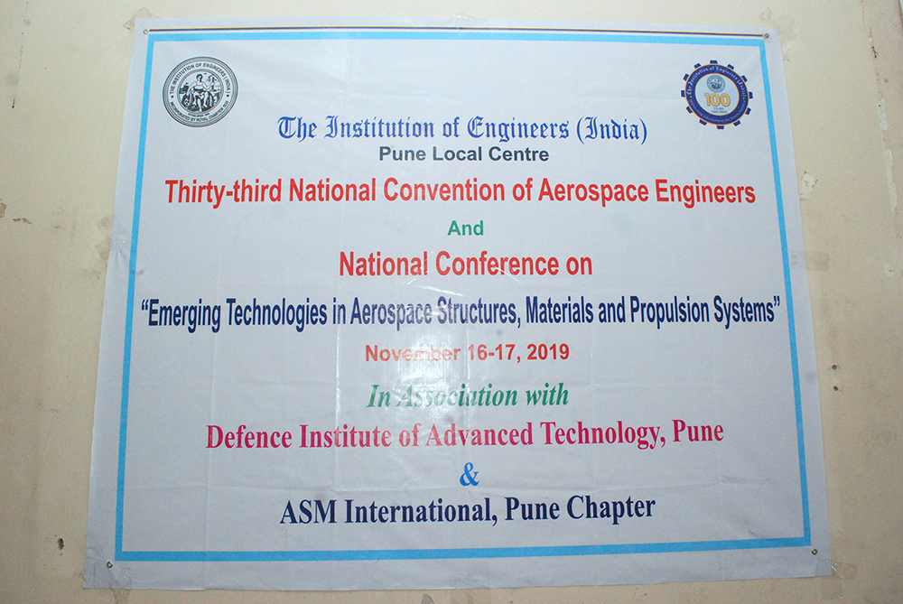 33<sup>rd</sup> National Convention of Aerospace Engineers, DAY-1